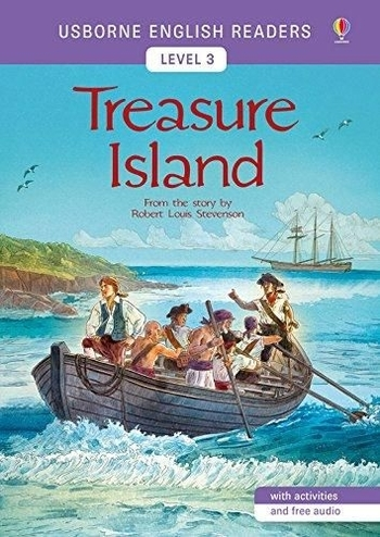 Usborne - English Readers 3 - Treasure Island