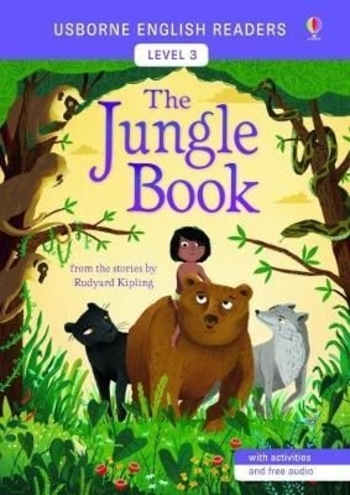 Usborne - English Readers 3 - The Jungle Book
