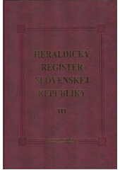 Heraldický register 3