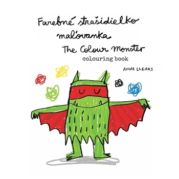 Farebné strašidielko + maľovanka - The Colour Monster + colouring book