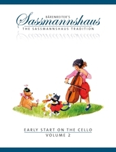 Early Start on the Cello, Volume 2 - A cello method for children